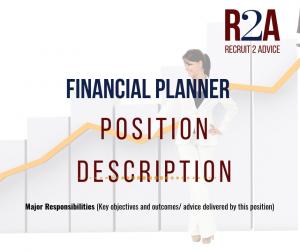 Recruit 2 Advice - Free Position Description - Recruitment - Financial Planning Australia
